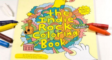 Win A Yellow Bird Project Indie Rock Coloring Book