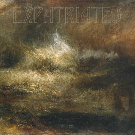 Stormy Sea with Blazing Wreck circa 1835-40 by Joseph Mallord William Turner 1775-1851